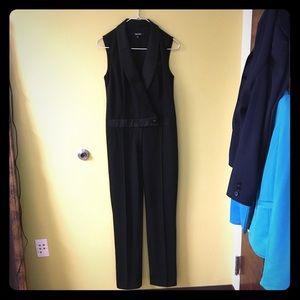 Nine West sleeveless tuxedo jumpsuit. 2